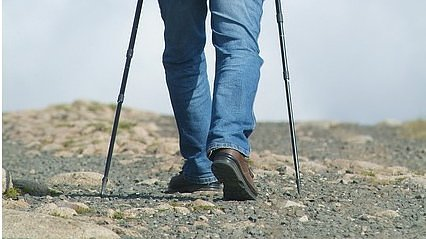 Nordic walking: Nordic walking improves your health and condition