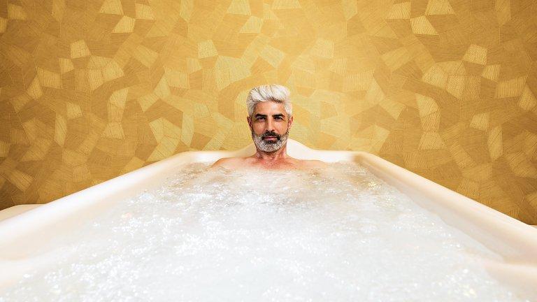 Lazuritový kúpeľ